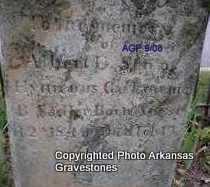 SADLER, ALBERT E - Logan County, Arkansas | ALBERT E SADLER - Arkansas Gravestone Photos