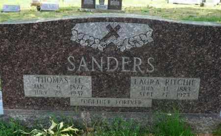 SANDERS, THOMAS - Logan County, Arkansas | THOMAS SANDERS - Arkansas Gravestone Photos