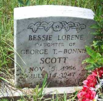SCOTT, BESSIE LORENE - Logan County, Arkansas | BESSIE LORENE SCOTT - Arkansas Gravestone Photos