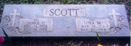 SCOTT, JAMES O - Logan County, Arkansas | JAMES O SCOTT - Arkansas Gravestone Photos