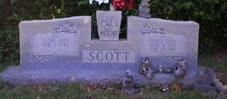 SCOTT, JAMES EARL - Logan County, Arkansas | JAMES EARL SCOTT - Arkansas Gravestone Photos