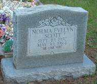 SCOTT, NORMA EVELYN - Logan County, Arkansas | NORMA EVELYN SCOTT - Arkansas Gravestone Photos