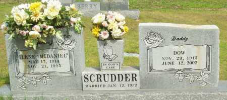 "SCRUDDER, ILENE ""MCDANIEL"" - Logan County, Arkansas | ILENE ""MCDANIEL"" SCRUDDER - Arkansas Gravestone Photos"