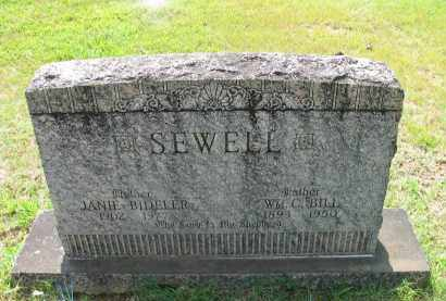 "SEWELL, WM. C. ""BILL"" - Logan County, Arkansas 