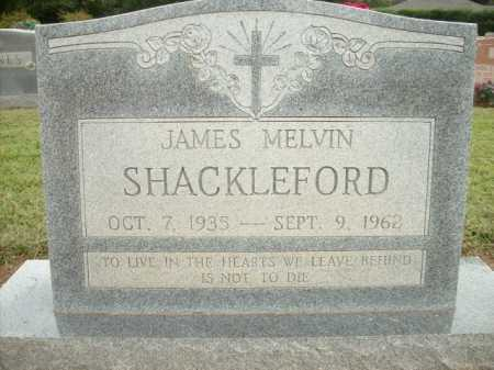 SHACKLEFORD, JAMES MELVIN - Logan County, Arkansas | JAMES MELVIN SHACKLEFORD - Arkansas Gravestone Photos
