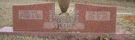 SHARP, LOIS ANN - Logan County, Arkansas | LOIS ANN SHARP - Arkansas Gravestone Photos