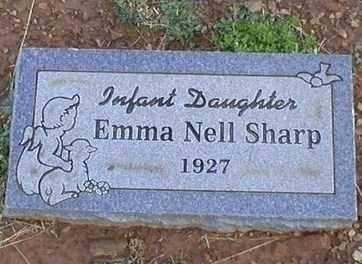 SHARP, EMMA NELL - Logan County, Arkansas | EMMA NELL SHARP - Arkansas Gravestone Photos