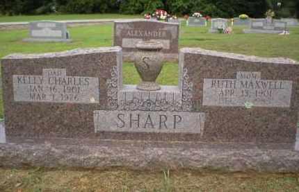 MAXWELL SHARP, RUTH - Logan County, Arkansas | RUTH MAXWELL SHARP - Arkansas Gravestone Photos