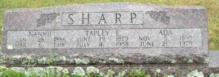 SHARP, ADA - Logan County, Arkansas | ADA SHARP - Arkansas Gravestone Photos