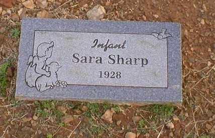 SHARP, SARA - Logan County, Arkansas | SARA SHARP - Arkansas Gravestone Photos