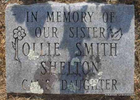 SHELTON, OLLIE - Logan County, Arkansas | OLLIE SHELTON - Arkansas Gravestone Photos
