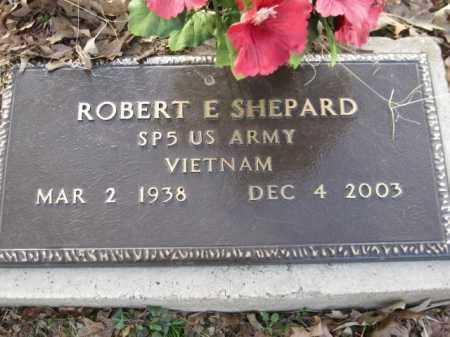 SHEPARD (VETERAN VIET), ROBERT E - Logan County, Arkansas | ROBERT E SHEPARD (VETERAN VIET) - Arkansas Gravestone Photos