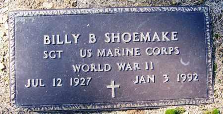 SHOEMAKE (VETERAN WWII), BILLY B - Logan County, Arkansas | BILLY B SHOEMAKE (VETERAN WWII) - Arkansas Gravestone Photos