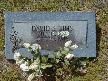 SIMS, DAVID S. - Logan County, Arkansas | DAVID S. SIMS - Arkansas Gravestone Photos