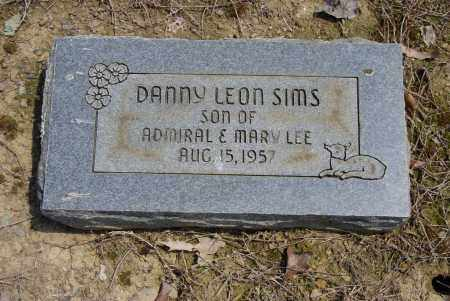 SIMS, DANNY LEON - Logan County, Arkansas | DANNY LEON SIMS - Arkansas Gravestone Photos