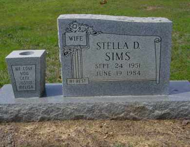 SIMS, STELLA D - Logan County, Arkansas   STELLA D SIMS - Arkansas Gravestone Photos