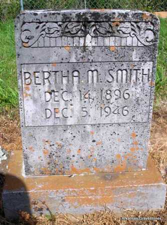 SMITH, BERTHA M. - Logan County, Arkansas | BERTHA M. SMITH - Arkansas Gravestone Photos