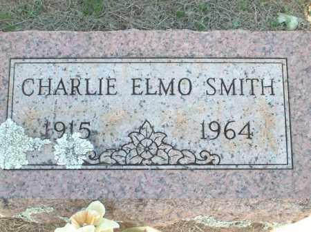 SMITH, CHARLIE ELMO - Logan County, Arkansas | CHARLIE ELMO SMITH - Arkansas Gravestone Photos