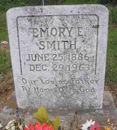 SMITH, EMORY E - Logan County, Arkansas | EMORY E SMITH - Arkansas Gravestone Photos