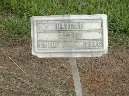 SMITH, HAROLD - Logan County, Arkansas | HAROLD SMITH - Arkansas Gravestone Photos