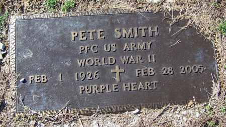 SMITH (VETERAN WWII), PETE - Logan County, Arkansas | PETE SMITH (VETERAN WWII) - Arkansas Gravestone Photos