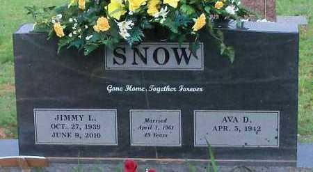 SNOW, JIMMY L - Logan County, Arkansas | JIMMY L SNOW - Arkansas Gravestone Photos