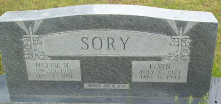 SORY, NETTIE M. - Logan County, Arkansas | NETTIE M. SORY - Arkansas Gravestone Photos