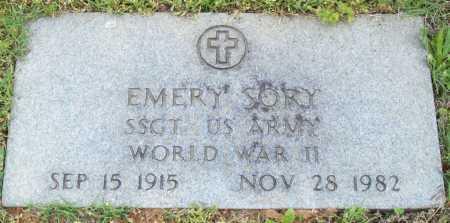 SORY (VETERAN WWII), EMERY - Logan County, Arkansas | EMERY SORY (VETERAN WWII) - Arkansas Gravestone Photos