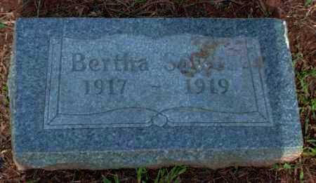 SOWELL, BERTHA - Logan County, Arkansas   BERTHA SOWELL - Arkansas Gravestone Photos