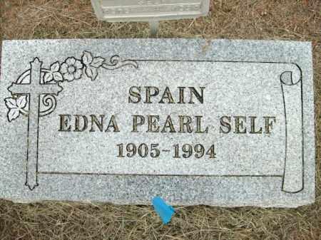 SPAIN, EDNA PEARL - Logan County, Arkansas | EDNA PEARL SPAIN - Arkansas Gravestone Photos