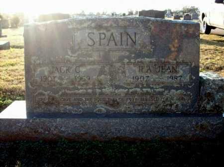 SPAIN, JACK C. - Logan County, Arkansas   JACK C. SPAIN - Arkansas Gravestone Photos