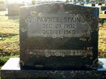 SPAIN, PAWNEE - Logan County, Arkansas   PAWNEE SPAIN - Arkansas Gravestone Photos