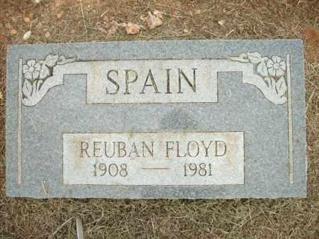 SPAIN, REUBAN FLOYD - Logan County, Arkansas | REUBAN FLOYD SPAIN - Arkansas Gravestone Photos