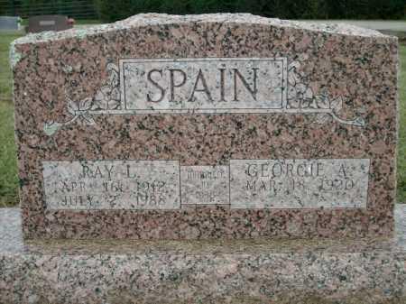 SPAIN, RAY L. - Logan County, Arkansas | RAY L. SPAIN - Arkansas Gravestone Photos