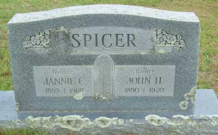 SPICER, JANNIE C. - Logan County, Arkansas | JANNIE C. SPICER - Arkansas Gravestone Photos