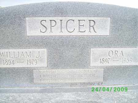 SPICER, WILLIAM J - Logan County, Arkansas | WILLIAM J SPICER - Arkansas Gravestone Photos