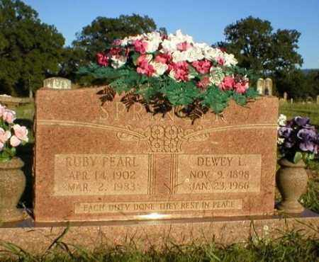 SPRINGER, RUBY PEARL - Logan County, Arkansas | RUBY PEARL SPRINGER - Arkansas Gravestone Photos