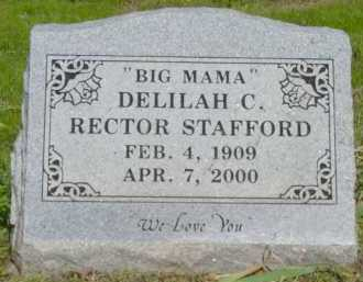 STAFFORD, DELILAH CHRISTINE - Logan County, Arkansas | DELILAH CHRISTINE STAFFORD - Arkansas Gravestone Photos