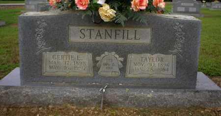 STANFILL, GERTIE ESTHER - Logan County, Arkansas | GERTIE ESTHER STANFILL - Arkansas Gravestone Photos