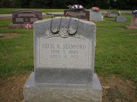 STANFORD, CECIL R. - Logan County, Arkansas   CECIL R. STANFORD - Arkansas Gravestone Photos