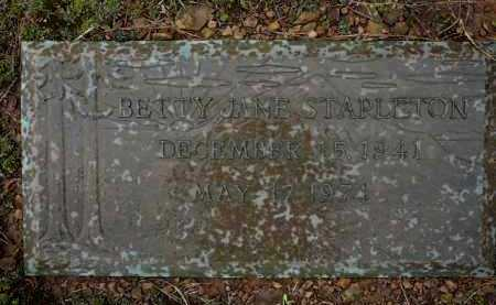 STAPLETON, BETTY - Logan County, Arkansas | BETTY STAPLETON - Arkansas Gravestone Photos