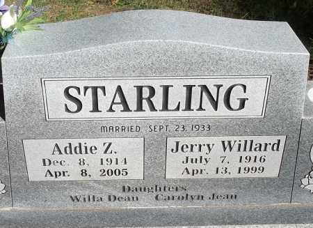 STARLING, ADDIE Z - Logan County, Arkansas | ADDIE Z STARLING - Arkansas Gravestone Photos