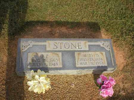 STONE, B. P. - Logan County, Arkansas | B. P. STONE - Arkansas Gravestone Photos