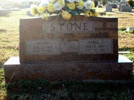 STONE, ANNA J. - Logan County, Arkansas | ANNA J. STONE - Arkansas Gravestone Photos