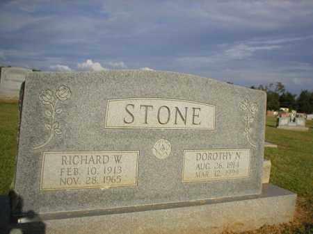 STONE, RICHARD W. - Logan County, Arkansas | RICHARD W. STONE - Arkansas Gravestone Photos