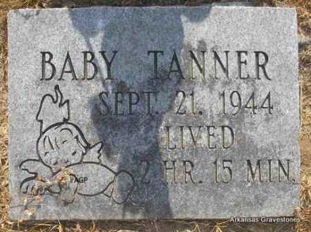 TANNER, BABY - Logan County, Arkansas | BABY TANNER - Arkansas Gravestone Photos