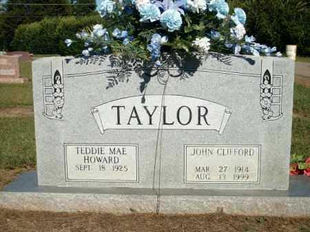 TAYLOR, JOHN CLIFFORD - Logan County, Arkansas   JOHN CLIFFORD TAYLOR - Arkansas Gravestone Photos