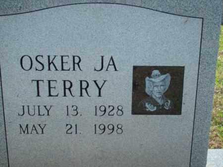 TERRY, OSKER JA - Logan County, Arkansas   OSKER JA TERRY - Arkansas Gravestone Photos