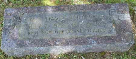 THOMPSON, PAUL DAVID - Logan County, Arkansas | PAUL DAVID THOMPSON - Arkansas Gravestone Photos