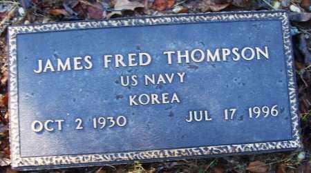 THOMPSON (VETERAN KOR), JAMES FRED - Logan County, Arkansas | JAMES FRED THOMPSON (VETERAN KOR) - Arkansas Gravestone Photos